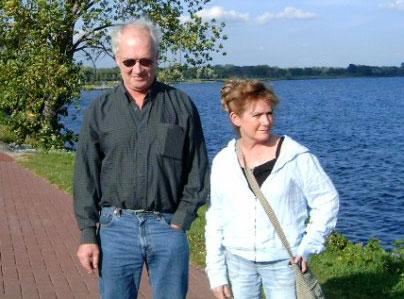 John Bissett and Carol Ann